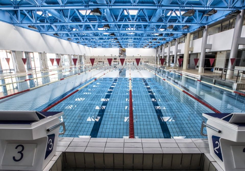Olympic-size pool Sierra Nevada, Spain
