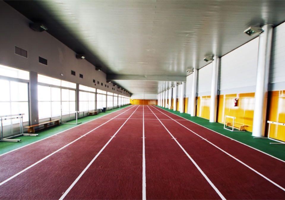 Indoor training track Sierra Nevada