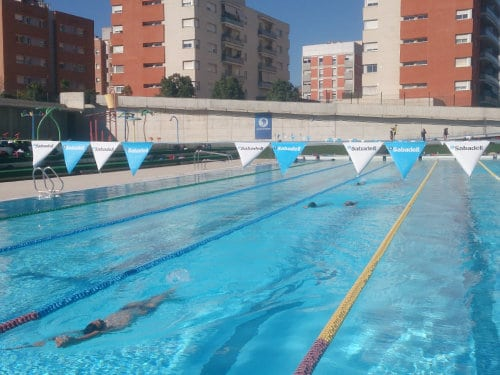 50m pool in Sabadell, Spain